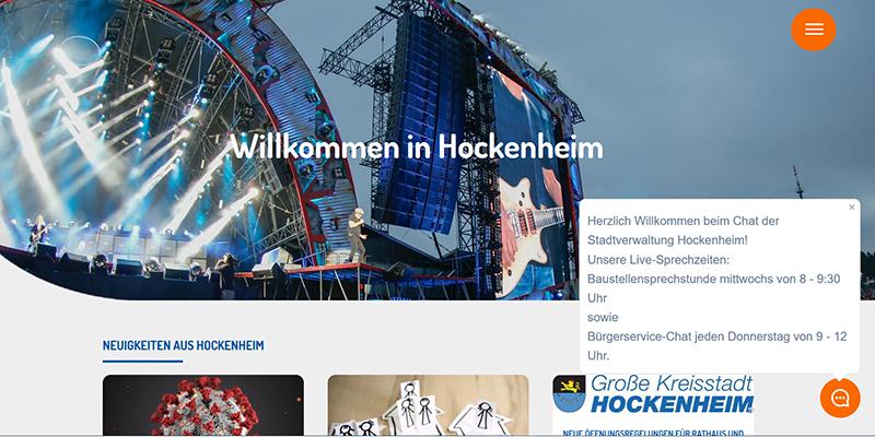 messaging-chat-webseite-stadtverwaltung-hockenheim